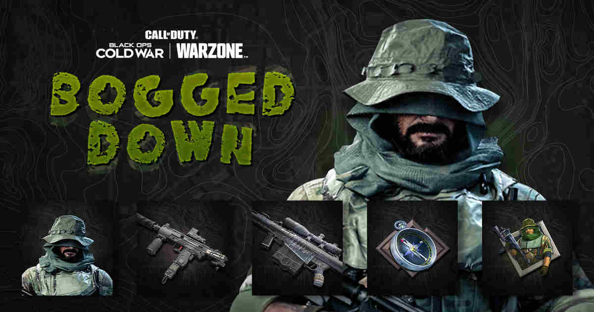 The Bogged Down Bundle is now live in CoD for Amazon Prime Members