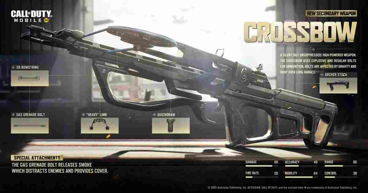 Crossbow CoD Mobile
