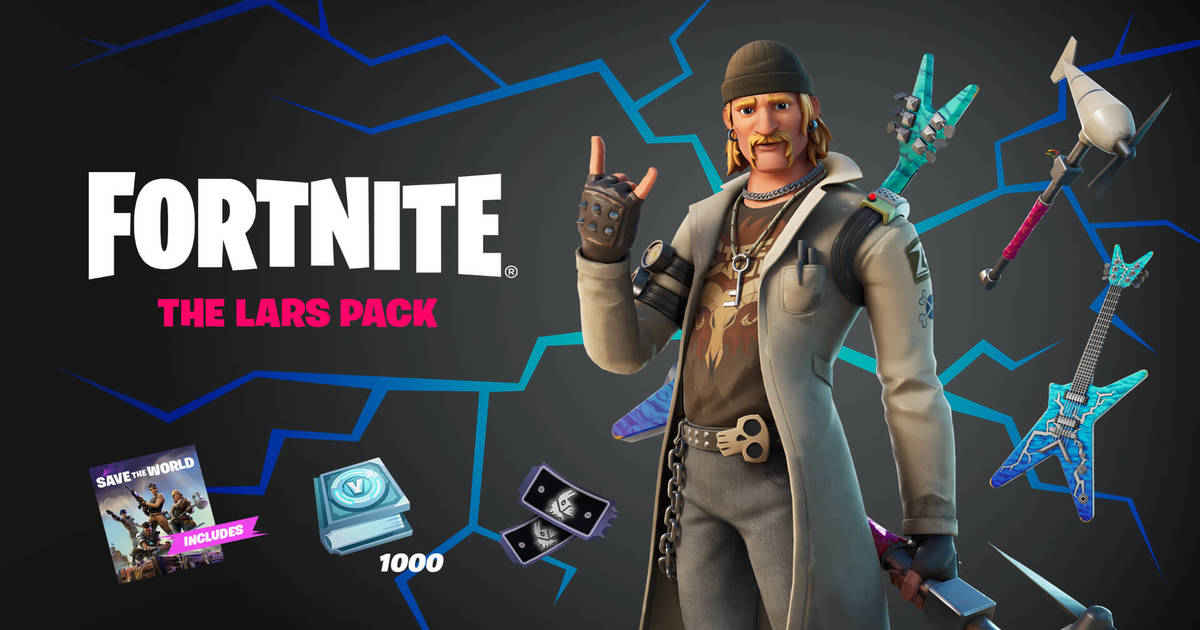 The Lars Pack, Dire, Dungeons, Swampy Knight, Ragnarok now in Fortnite
