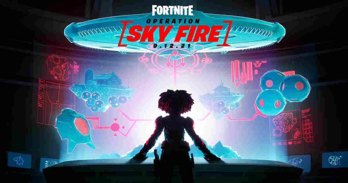 Fortnite Operation Sky Fire: Final Chapter 2 Season 7 Event drops Sept 12
