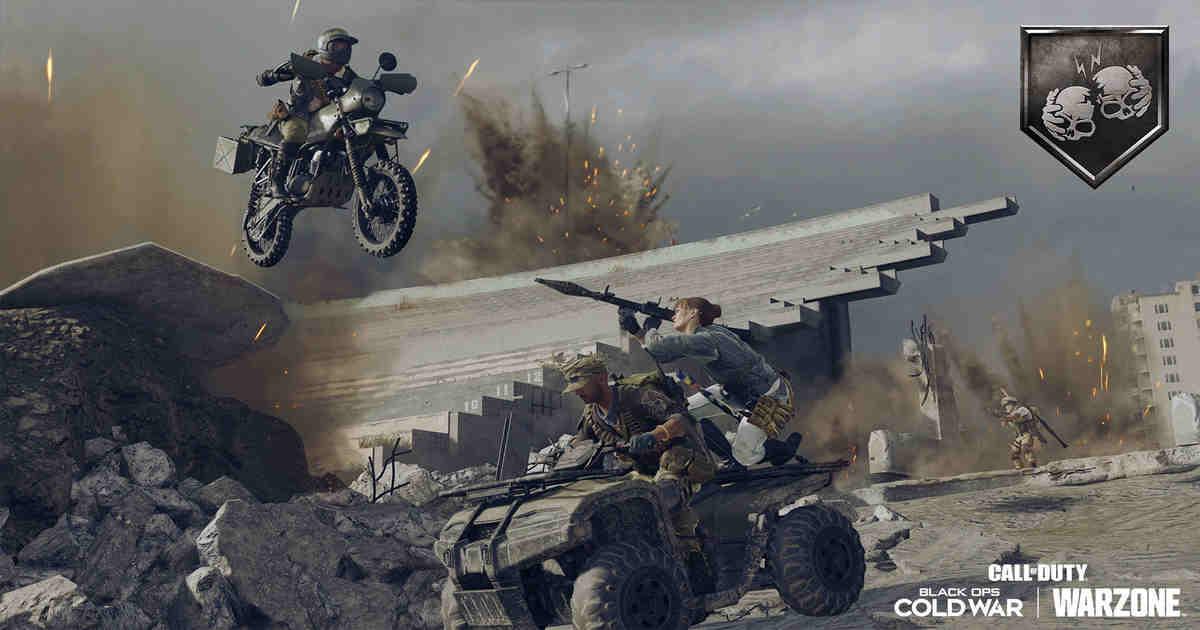 Iron Trials '84 mode Warzone