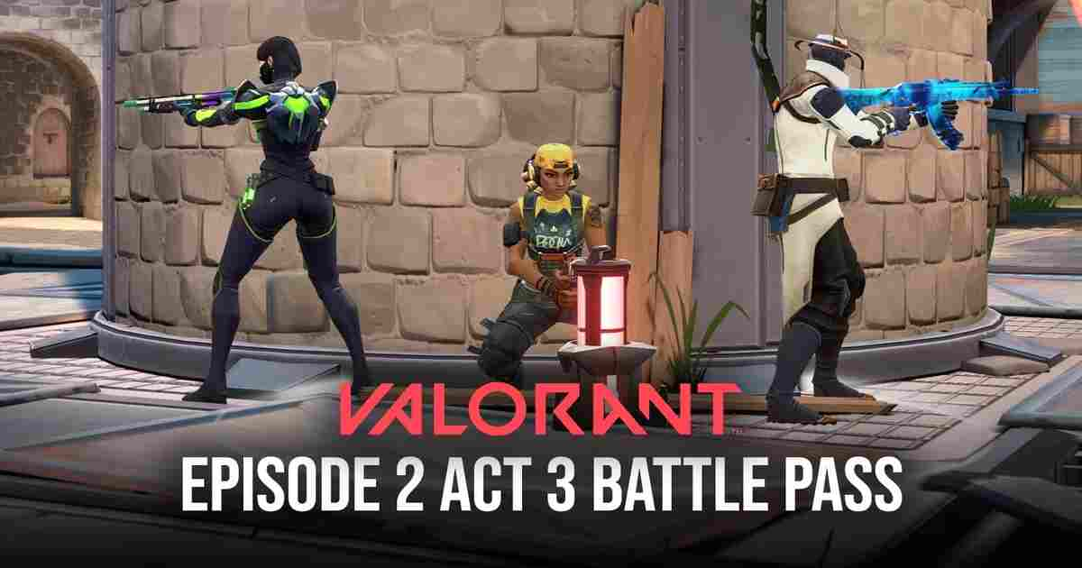 Valorant Episode 3 Act 2 Battle Pass revealed: New skins, weapons arrive