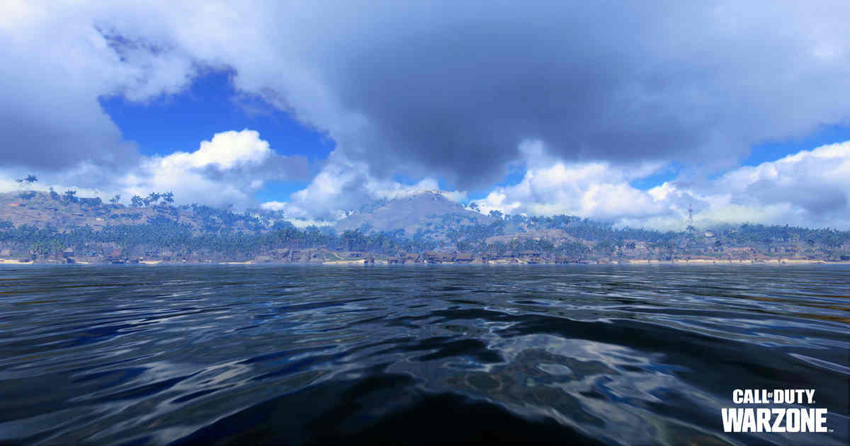 Pacific map Warzone