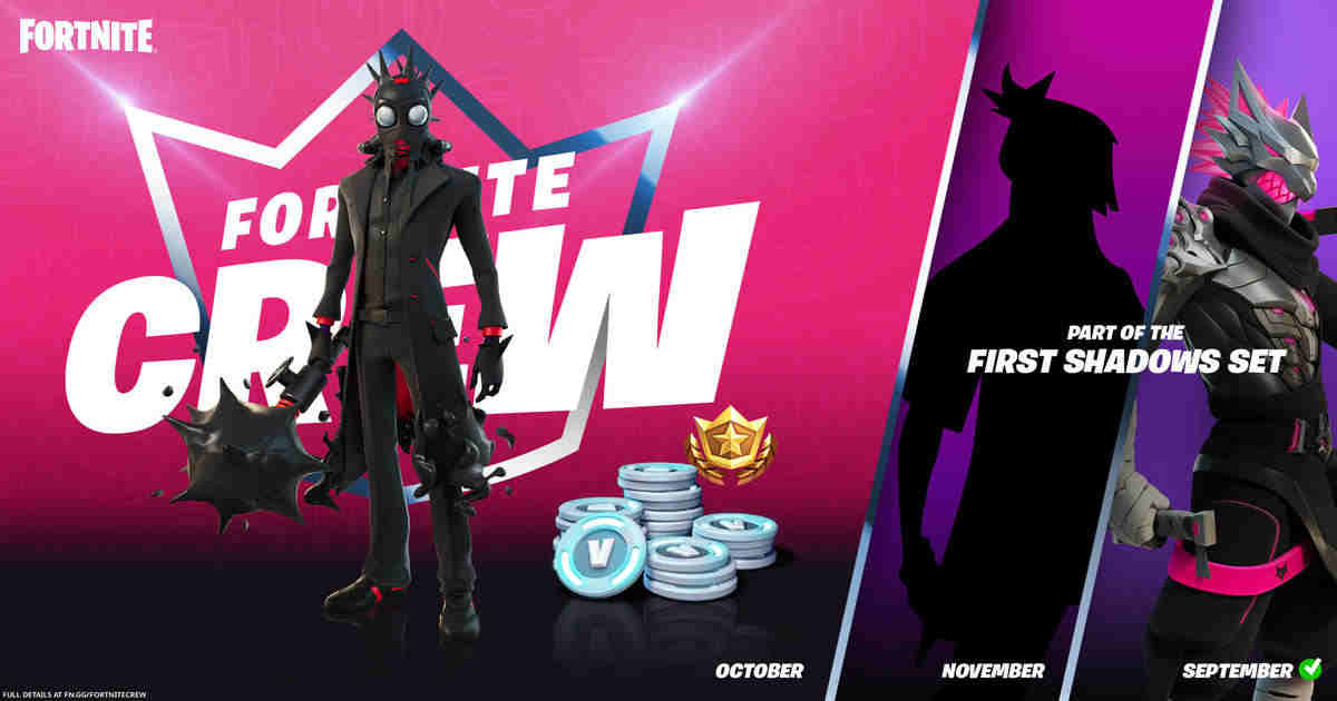 Second of The First Shadows: Chaos Origins, arrives in Fortnite