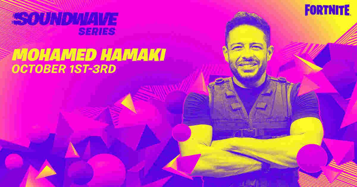 Fortnite Soundwave Series with Mohamed Hamaki begins tomorrow
