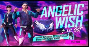 Free Fire Angelic Wish event